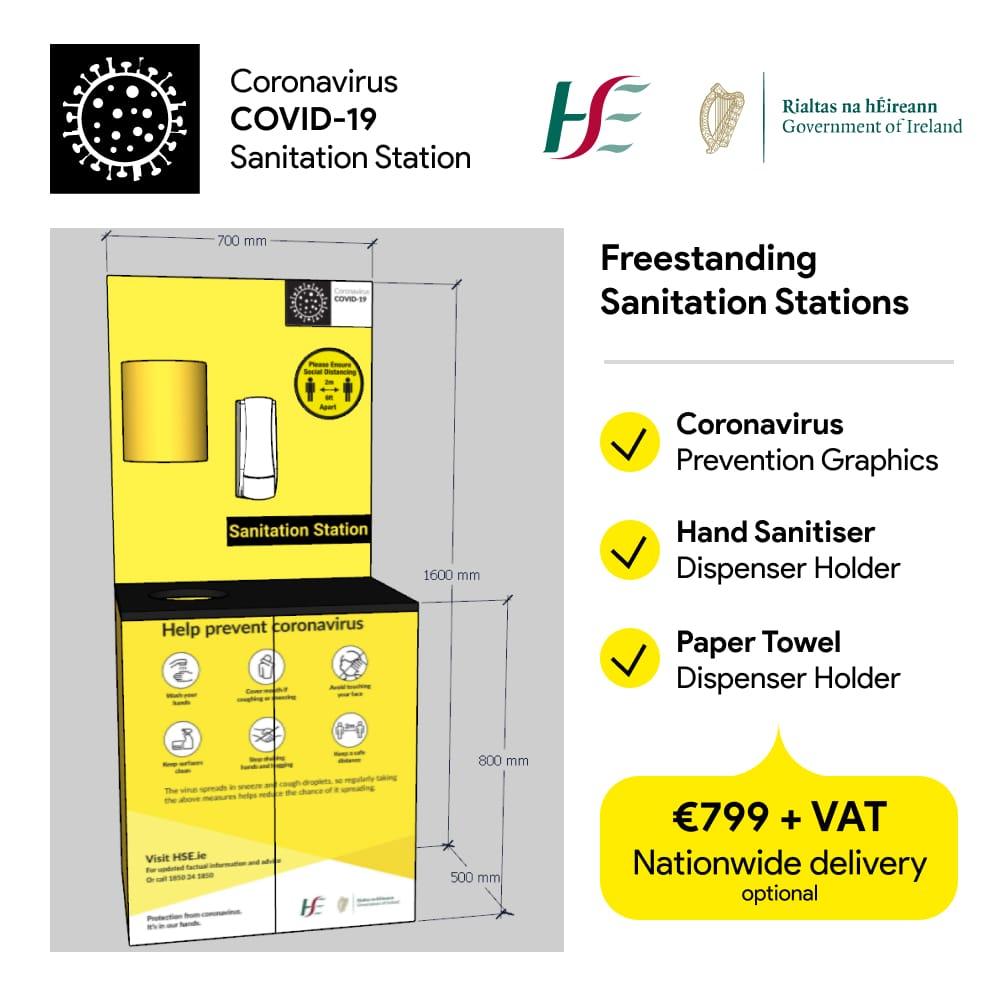 coronavirus sanitation stations